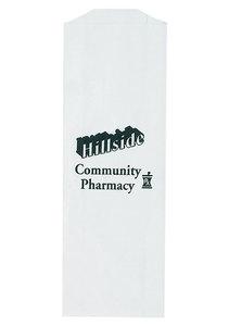 White Kraft Prescription Bag |3.5x10|