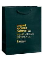 Gloss Laminated Euro Tote Bag |8x4x10|