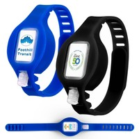Adjustable Silicone Wristband Sanitizer Dispenser