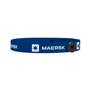 """Mask Buddy Jr. 3/4"""" Elastic Head Band With Buttons"""