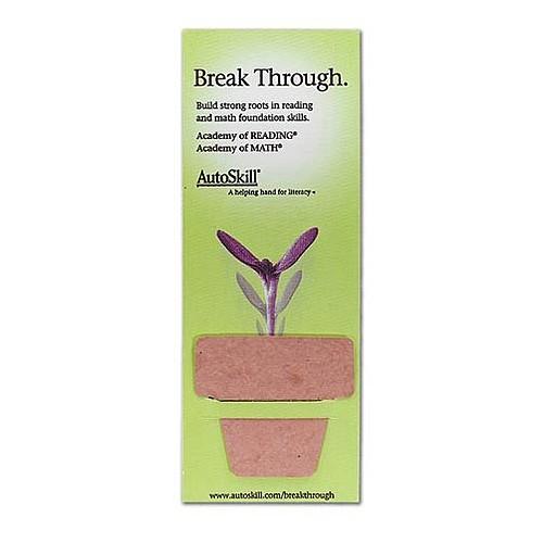 Plant A Shape Bookmark