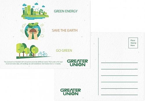Premium Seeded Paper Postcard