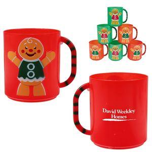 8oz Gingerbread Mug