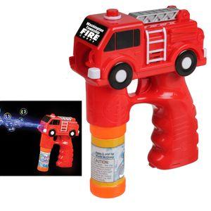 Fire Truck Bubble Gun