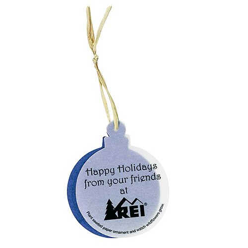 Seeded Paper Ornament