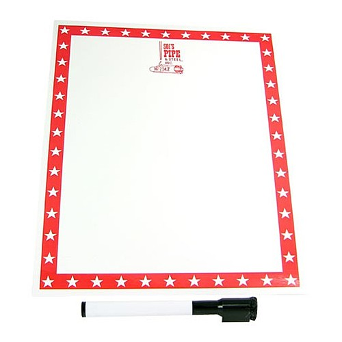 Write On/Wipe Off Memo Board