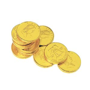 Stock Chocolate Coin Only