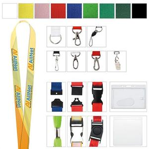 "5/8"" Polyester Color Lanyard"