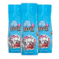 7oz. Personalized  M&M's® Bags  Set Of Three Bags