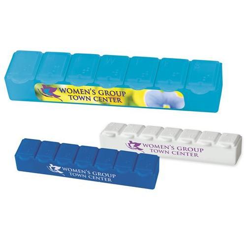 7 Day Strip Pill Box