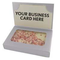 Cookie Business Card Box With Peppermint Bark