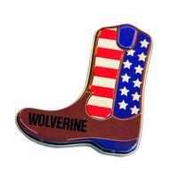 America Cowboy Boot Shaped Mint Tin