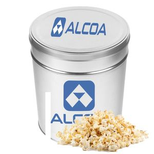 Three And A Half Gallon Popcorn Tin   Butter Popcorn