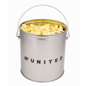 One Gallon Popcorn Tin   Butter Popcorn