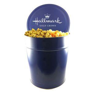 Three And A Half Gallon Popcorn Tin   Trio Popcorn