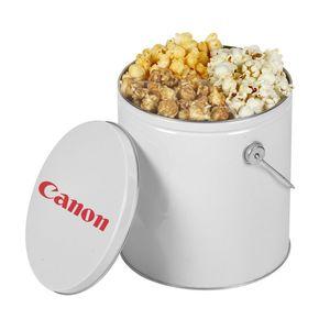 One Gallon Popcorn Tin   Trio Popcorn