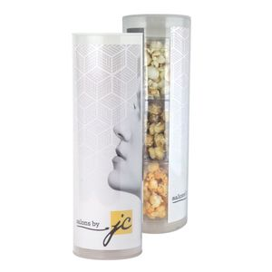3 Piece Gift Tube With Popcorn