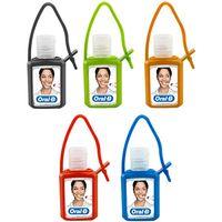 .5 Oz. Hand Sanitizer Gel In Silicone Case