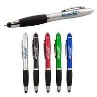 Stylus Pen With Led Flashlight