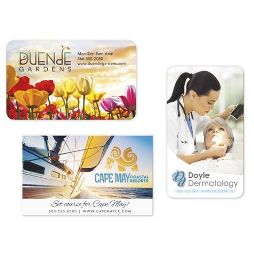 Bic 30 Mil Jumbo 4 Color Process Business Card Magnet