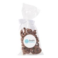 Mug Drops   Milk Chocolate Mini Pretzels