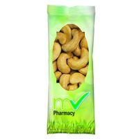 Full Color Tube Digi Bag™ With Jumbo Salted Cashews