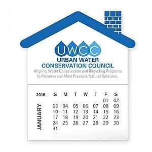 Bic Stock Shape Magnet With 12 Sheet Calendar