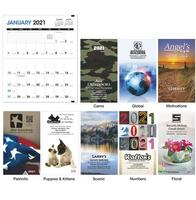 Colorful Impressions Monthly Pocket Planner