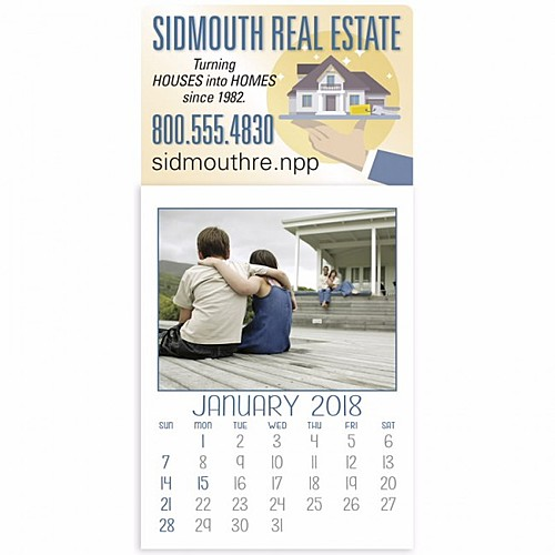 Custom Full Color Stick Up Calendar
