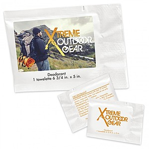 Deodorant Towelette Packet