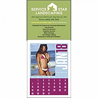 Full Color Stick Up, Swimsuits Grid Calendar