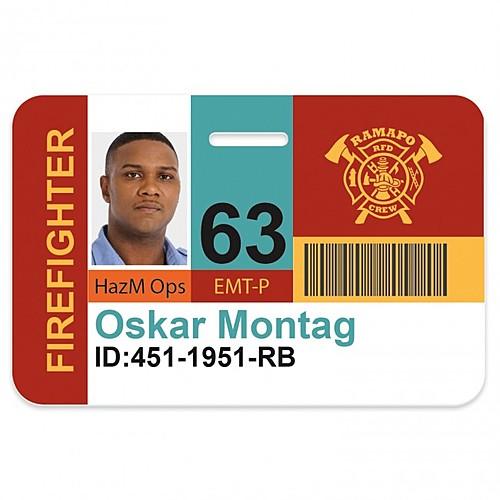 Horizontal Name Badge