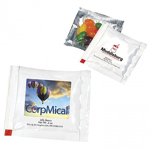 """Jelly Beans 3"""" 3"""" Treat Packet"""