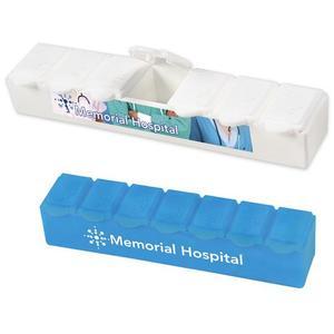 Jumbo 7 Day Strip Pill Box