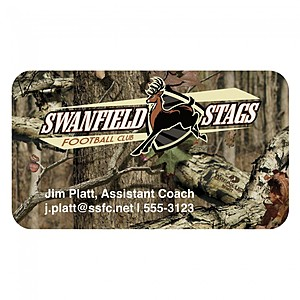 Mossy Oak Bic 20mil 4 Color Business Card Magnet