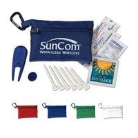 Mega Golf Kit In Zippered Bag