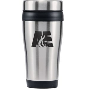16 Oz Insulated Travel Tumbler With Lid