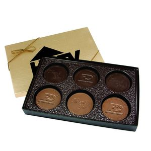 Cookie Gift Box With 6 Round Cookies