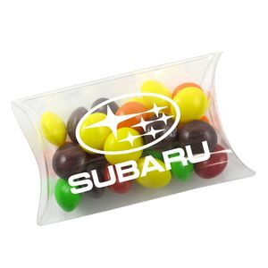 Small Pillow Acetate Box With Skittles