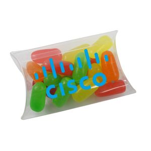 Small Pillow Acetate Box With Mike & Ike's