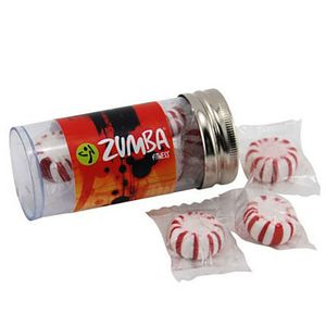 """Small 3"""" Candy Tube With Starlight Mints"""