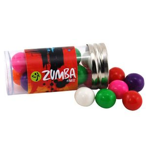 Tube With Gumballs