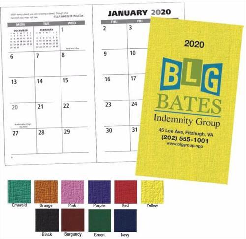 Value Monthly Pocket Planner