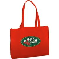 Textured Non Woven Tote Bag   Full Color
