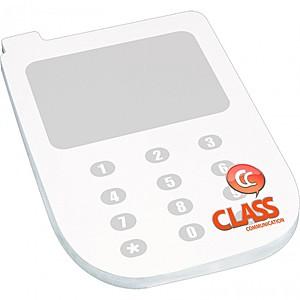 "4"" X 6"" Die Cut Adhesive Notepad   Cell Phone"