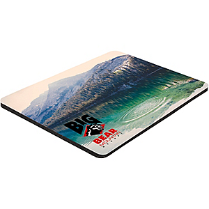 "6"" X 8"" X 1/16"" Full Color Soft Mouse Pad"