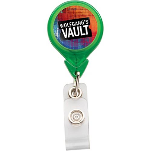 Photo Vision Premium Teardrop Badge Holder