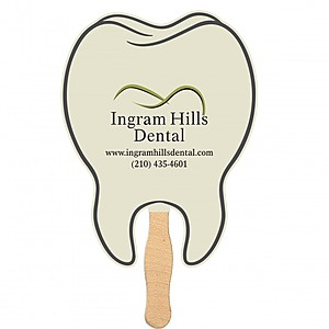 Handheld Tooth Shaped Fan   Mini