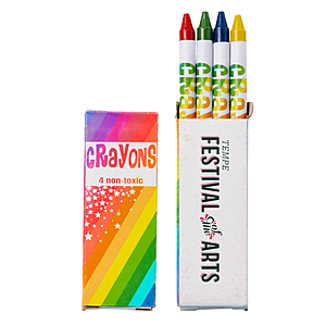 4 Count Crayon Pack