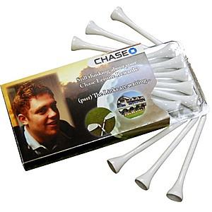 Golf Tee's In Envelope  Golfelope